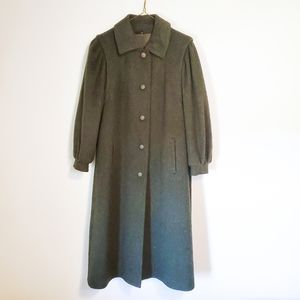 Vintage High Quality Loden Pea Coat